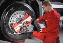Електронные беспроводные лазерные стенды Truckaligner II