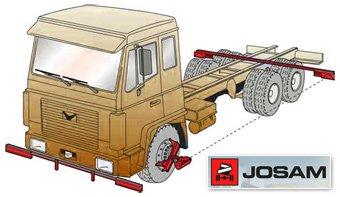 Регулировка схождения колес грузовых автомобилей