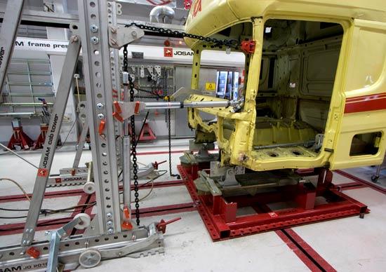ремонтно-восстановительные работы кабины